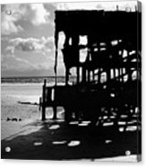 The Wreckage Of The Peter Iredale II Acrylic Print