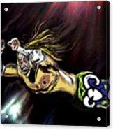 The Wrestler Acrylic Print