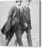 The Wright Brothers, Us Aviation Pioneers Acrylic Print