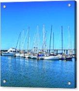 The Yacht Club Acrylic Print