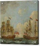 The Yacht Royal Charlotte Acrylic Print