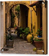 The Yellow Archway Acrylic Print