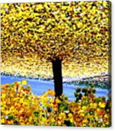 The Yellow Ceiling Acrylic Print