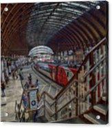 The York Train Station Acrylic Print