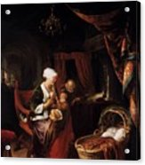 The Young Mother 1660 Acrylic Print