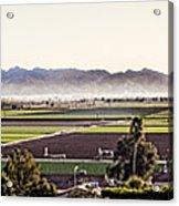 The Yuma Valley Acrylic Print