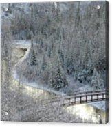 The Zen Of Bridge 5 Acrylic Print
