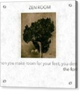 The Zen Room   Acrylic Print