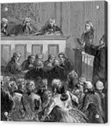 The Zenger Case, 1735 Acrylic Print by Photo Researchers