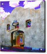 Theater Night Mesilla Acrylic Print