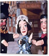 Theater: Puppet Characters Acrylic Print