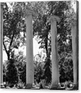 Theatre Columns Acrylic Print