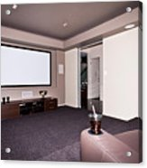 Theatre Room Acrylic Print