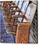Theatre Seating Acrylic Print