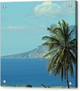 Thecaribbean  Island Of St Eustatius Acrylic Print