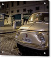 The Fiat 500 Acrylic Print