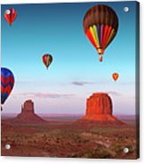 Their Dream Flight At Dream Place Acrylic Print