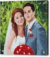 Their Wedding Day Acrylic Print
