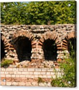 Theodosian Walls - View 13 Acrylic Print
