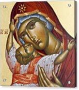 Theotokos Kardiotissa I Acrylic Print