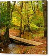 There Is Peace - Allaire State Park Acrylic Print