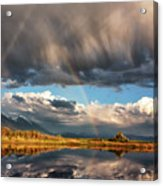Theres A Rainbow In Every Storm Acrylic Print