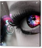 There's Magick In The Eyes Acrylic Print