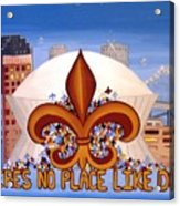 There's No Place Like Dome Acrylic Print