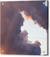 There's Smoke And Then There's S M O K E Acrylic Print