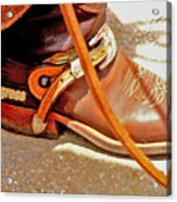These Boots Were Made For Riding Acrylic Print