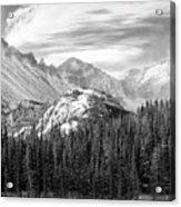 These Mountains Acrylic Print