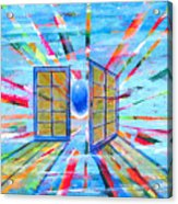 These Open Doors Acrylic Print by Rollin Kocsis