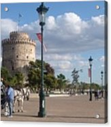 Thessaloniki City  Acrylic Print