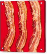 Thick Cut Bacon Served Up Acrylic Print