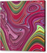 Thick Paint Abstract Acrylic Print