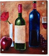 Thicker Than Wine Acrylic Print
