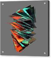 Thin Glass Triangles - 127 Acrylic Print