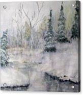 Thin Ice Acrylic Print