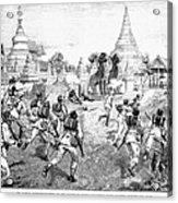 Third Burmese War, 1885 Acrylic Print