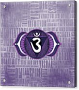 Third Eye Chakra - Awareness Acrylic Print