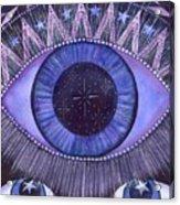 Third Eye Chakra Acrylic Print