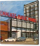 Third Ward - Milwaukee Public Market Acrylic Print