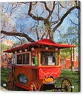 Third Ward - Popcorn Wagon Acrylic Print