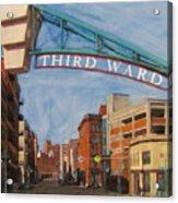Third Ward Entry Acrylic Print