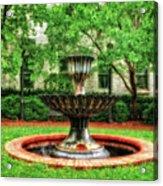 Thirsty Fountain  -  Louky812 Acrylic Print