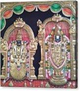 Thirupathi Acrylic Print