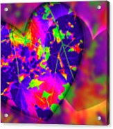 This Hearts For You Acrylic Print