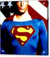 This Is Superman Acrylic Print