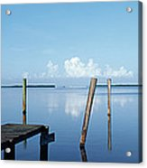 This Is The Morning View Of Pine Island Acrylic Print