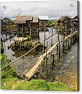 This Is The Philippines No.10 - Pilar Fishing Village Acrylic Print